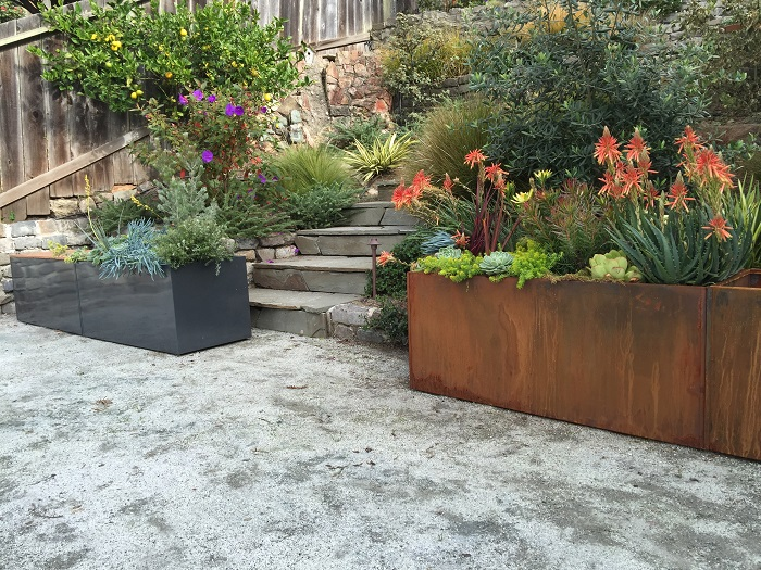Nice Corten Steel Trough Nice Planter Llc