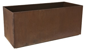 Corten Steel Planter main page